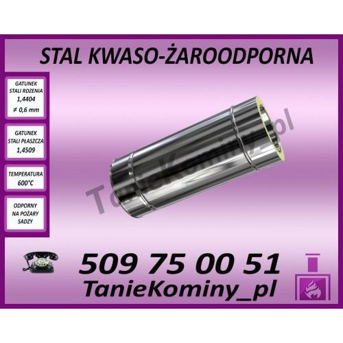 Rura dwuścienna Ø 120 500 mm