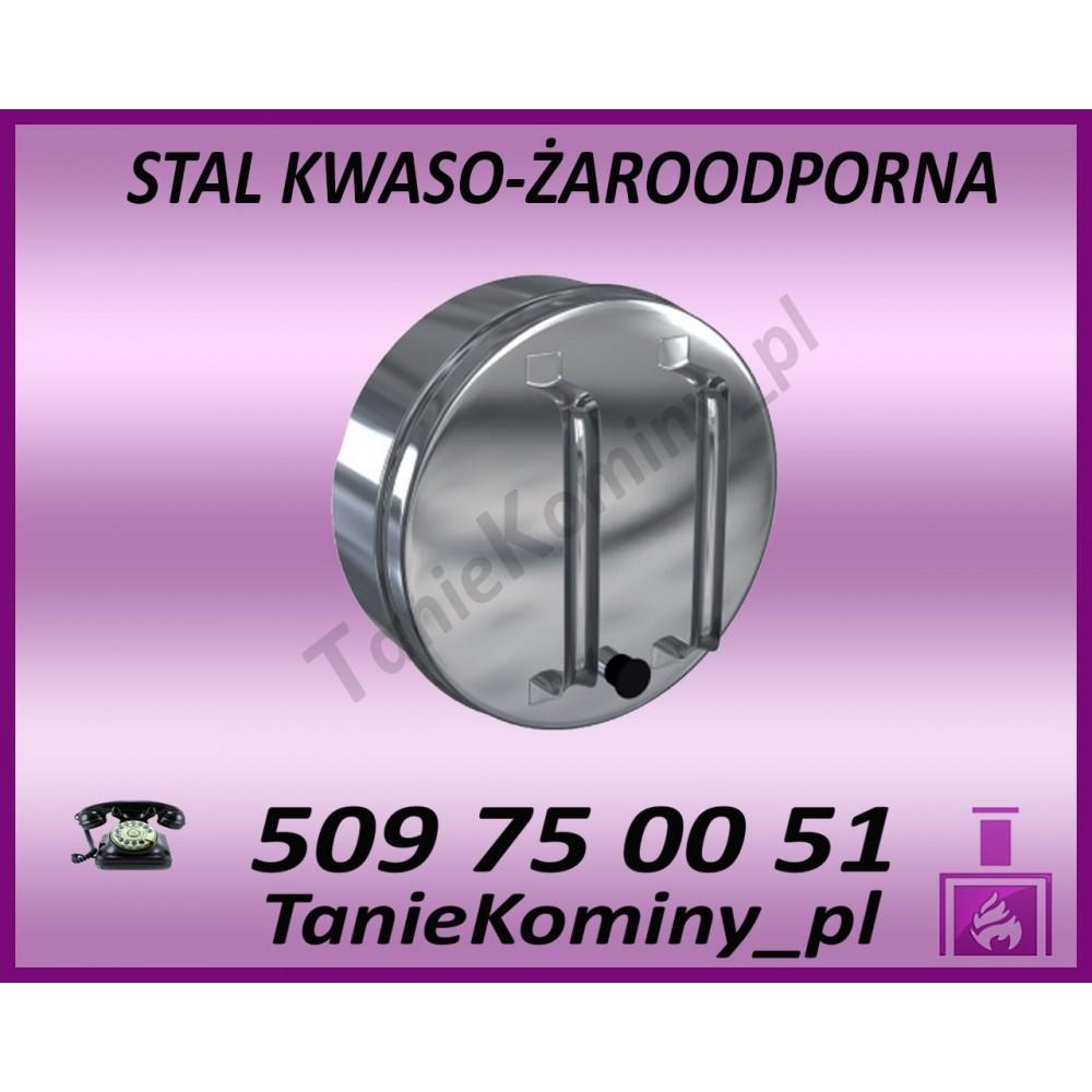 ODSKRAPLACZ - DEKEL DWUŚCIENNY IZOLOWANY DS rdzeń Ø 140 płaszcz Ø 200