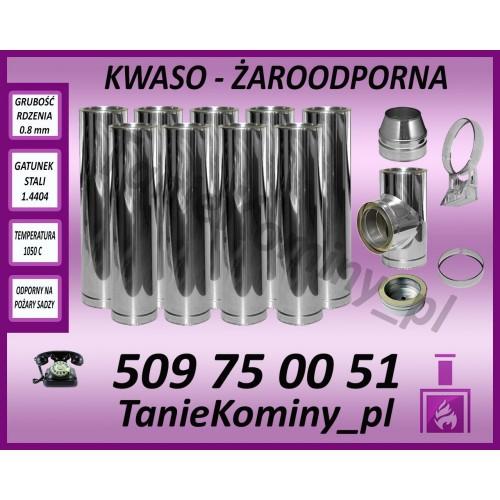Komin dwuścienny AFTS DS fi 150 9