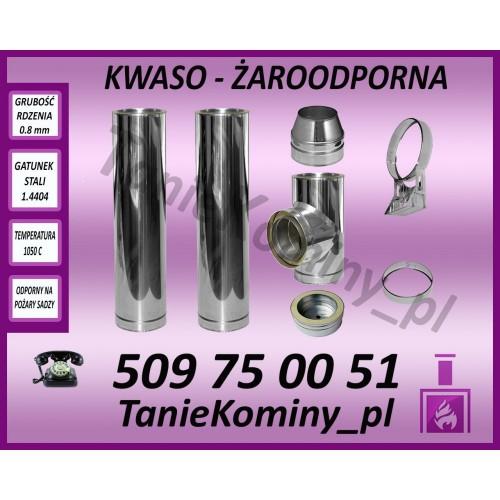 Komin dwuścienny AFTS DS fi 200 2