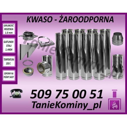Komin dwuścienny KFS DS fi 160 9 m RDZEŃ 1.0 mm