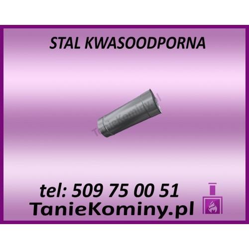 RURA OKRĄGŁA KWASOODPORNA Ø 80 L250 mm GAZ / OLEJ OPAŁOWY